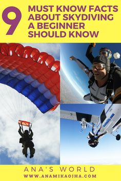 9 Must Know Facts About Skydiving A Beginner Should Know