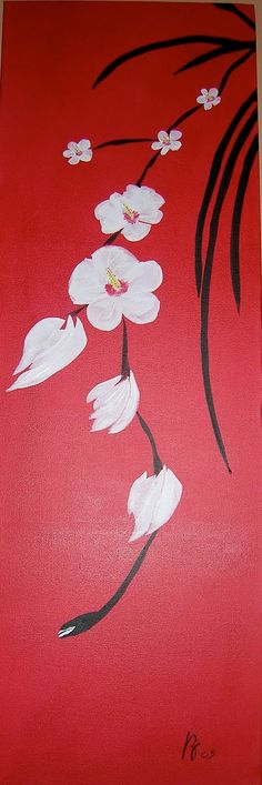 asian acrylic painting - Google Search