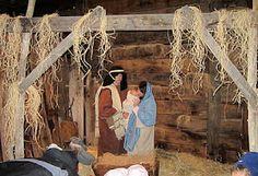 Living Nativity in Alpine, Utah fantastic but dress WARM.