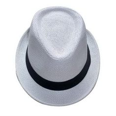0beddae70d3 Kritzer Marketing from New York NY USA Fedora hat  paper straw material  with ribbon band.
