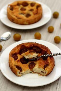 Gâteau au fromage blanc et mirabelles - 4SP Weight Watchers