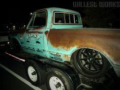 Chevy C10 67 Chevy Truck, Classic Chevy Trucks, Chevy C10, Chevrolet Trucks, Bagged Trucks, C10 Trucks, Hot Rod Trucks, Old Ford Pickups, Vehicle Lettering