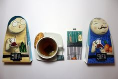 Sifa Tea (Student Project) on Packaging of the World - Creative Package Design Gallery