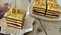 Księżniczka - ciasto bez pieczenia - Blog z apetytem Tiramisu, Waffles, Caramel, Good Food, Food And Drink, Blog, Sweets, Cooking, Breakfast