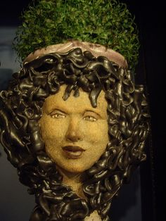 1000 images about head planters on pinterest head planters planters and medusa head - Medusa head planter ...
