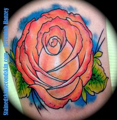 Flower Tattoo  #JeremiahHanzey #Stainedskinsecondskin