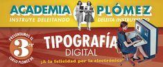 En lo más fffres.co: La Academia Plómez regresa con un nuevo curso de tipografía digital en 2018: La Academia Plómezya tiene… #Formación