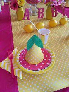 Lemonade / Lemons Birthday Party Ideas | Photo 7 of 11 | Catch My Party