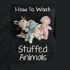 How to Wash Stuffed Animals #stepbystep
