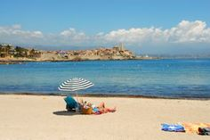 Antibes, Plage  de la Salis, Côte d'Azur Antibes, Beach Mat, Outdoor Blanket, France, Travel, The Beach, Nice, Voyage, Viajes