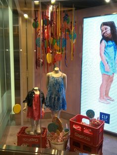 "GAP KIDS, ""like a kid in a candy store"", pinned by Ton van der Veer"