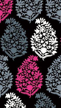 Vera Bradley Cell Phone Wallpaper - Northern Lights Pattern