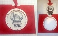 My FREE gift to you with all £20 purchases. The step by step instructions and colour picture tutorial for this Fun Christmas card. Using Get Your Santa On - Stampin Up stamp set. Visit my blog for full details www.craftwithhayley.com