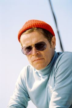 Still of Willem Dafoe in The Life Aquatic with Steve Zissou