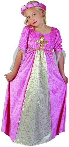 Disfraz de princesa para niña. Disponible en www.vegaoo.es