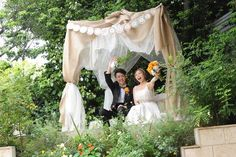 高砂の背景問題。  ナチュラルカントリーな結婚式*〜遠距離から雪国女子になりました〜