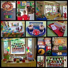 A Little Bit Of Melanie...: The LEGO Birthday Party