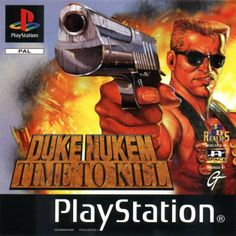 The background music played on the Present time levels in the game Duke Nukem: Time to kill Good quality sound. Duke Talk: Duke Nukem: Time to Kill --. 3d Realms, Take Two Interactive, Playstation Games, Gaming Computer, I Am Game, Duke, Cover, Videogames, Gaming