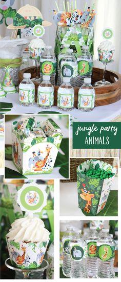 ▷ 1001 + Ideen für Gartenparty Deko zu jeglichen Anlässen Jungle