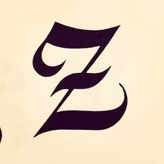 Letter of the day! #z #glyphosaurus #typography  (Taken with instagram)