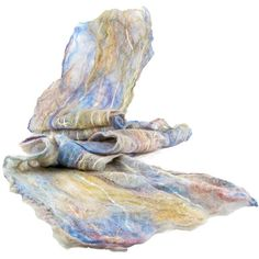 Cobweb Felted Scarf Wool Scarf Gift for Her Winter Scarf Spring Scarf... ($48) ❤ liked on Polyvore featuring accessories, scarves, fibernique, wool shawl, pastel scarves, woolen shawl, blue shawl and blue scarves