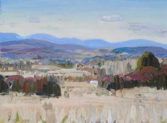 John Bokor-Big Canberra Landscape