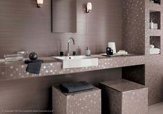 Progetto per un bagno quadrato di mq tirichiamo