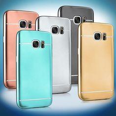 Handy Tasche für Samsung Galaxy Silikon Schutz Hülle Bumper Back Cover Dünn in…