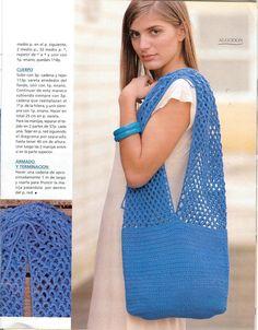 Meu Paraiso: Bolsa Azul - Simples mais bonita