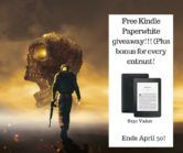 Kindle Paperwhite and Power Adapter Giveaway  Open to: United States Ending on: 04/30/2018 Enter for a chance to win a Kindle Paperwhite and power adapter ($150 value). Bonus: every entrant gets a free gift. Enter this Giveaway at A.A. Allsop Books  Enter the Kindle Paperwhite and Power Adapter Giveaway on Giveaway Promote.