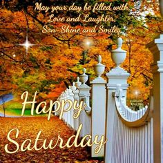 Good Morning Everyone, Happy Saturday. I pray that you have a safe and blessed day!!