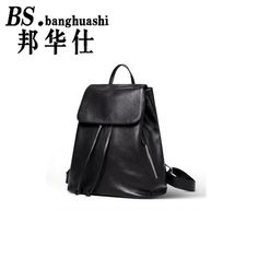 124.39$  Buy now - http://alinu2.worldwells.pw/go.php?t=32776061314 - Fashion Women Backpack High Quality Youth Leather Backpacks for Teenage Girls Female School Shoulder Bag Bagpack