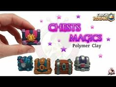 Chests Magics | Clash Royale | Polymer Clay Tutorial - YouTube