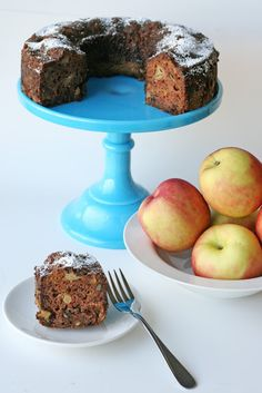 Fresh Apple Cake {Recipe}