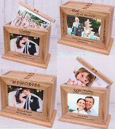 Birthday for him pictures photo ideas 59 Ideas 5th Anniversary Gift Ideas, Wedding Anniversary Gifts, Gift Wedding, Faire Part Photo, Bee Gifts, Birthday For Him, Starter Set, Grandparent Gifts, Wooden Gifts