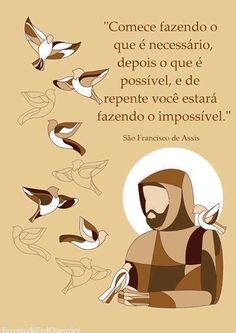 - by Cris Figueired♥ Catholic Religion, Life Philosophy, Jesus Loves You, St Francis, Inspirational Quotes, Thoughts, Humor, Words, Jesus Cristo