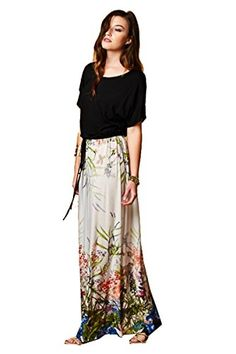 On Trend Short Sleeve Watercolor Florals Drawstring Belt Dress Small Blue >>> You can find more details by visiting the image link.