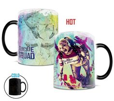 Preorder JULY SDCC 2016 Exclusive Harley Quinn Suicide Squad Morphing Mugs Heat-Sensitive Mug