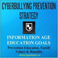 Cyberbullying facts, prevention education tips & resources are presented for download, at no cost, for parents, educators & pediatric professionals. Author of the Information Age Forensics construct, iPredator, Dr. Nuccitelli has compiled helpful information regarding both the cyberbully and cyberbully victim. Given that a significant segment of cyberbullies fit criteria for iPredator, he also presents his formal definitions for Dark Psychology, Cyberstealth, iPredator Bridge & Cyberstealth.