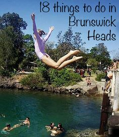 18 things to do in Brunswick Heads, NSW, Australia. Brunswick Heads, New Brunswick, Visit Australia, Australia Travel, Nsw Holidays, School Holidays, Stuff To Do, Things To Do, Camping Spots