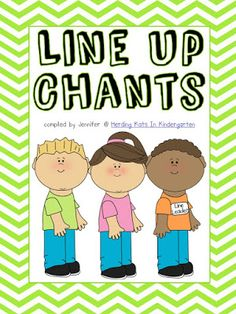 Having a repertoire of fun songs to sing when having your students line up is a great classroom management tool. Students can become bored with just one or two songs though, so its a good idea to have