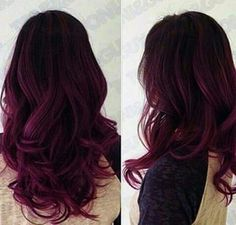 Imagen vía We Heart It #colorhair #fashion #hairstyle #violethair