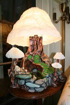 Mushroom Magic Lamp 1970's
