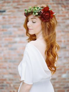 Fresh flower hairstyles for summer! http://www.stylemepretty.com/2014/05/15/20-fresh-flower-hairstyles-for-spring-summer/
