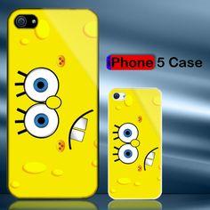 Spongebob Face iPhone 5 Case