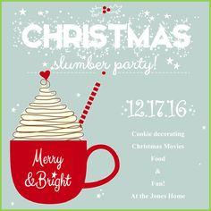 9th Grade Girls Christmas Slumber Party!