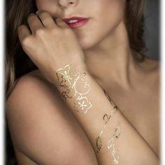Gold tattoo ... I want one