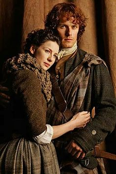 images jamie and claire outlander | Outlander, Jamie & Claire