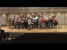 Northwestern College A cappella Choir 2013-2014, Orange City, Iowa
