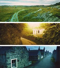 Pictures taken by Google Streetcar Cameras: Utsira, Norway - Sao Jojao Del Rei, Brazil - Inverallochy, Scotland -